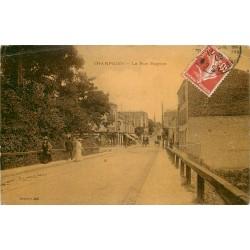 94 CHAMPIGNY. Imprimerie sur la rue Mignon 1909
