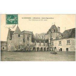 carte postale ancienne 16 LA COURONNE. L'Oisellerie Ecole d'Agriculture vers 1910