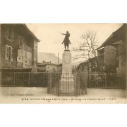 38 PONTCHARRA-SUR-BREDA. Monument du Chevalier Bayard rue Docteur Charvet 1919