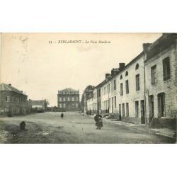 59 BERLAIMONT. La Place Mandron 1924
