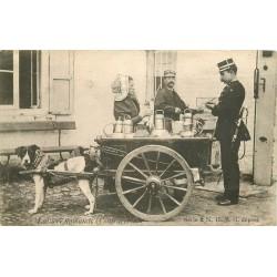 BRABANT FLAMAND. Contravention bpar Douanier pour la Laitière flamande et et son attelage à Chien 1908