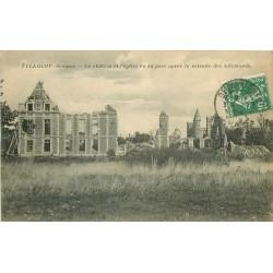 80 TILLOLOY ou TYLLOLOY. Château et Eglise après la retraite des Allemands