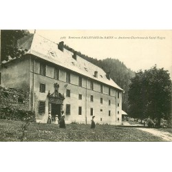 38 ALLEVARD-LES-BAINS environs. Chartreuse Saint-Hugon