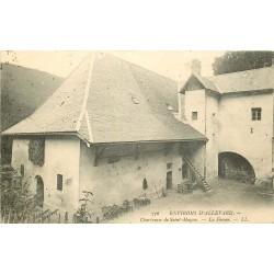 38 ALLEVARD-LES-BAINS environs. Chartreuse Saint-Hugon la Ferme vers 1900