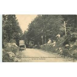 38 Route de SAINT-PIERRE-DE-CHARTREUSE à SAINT-PIERRE-D'ENTREMONT. Col du Cucheron 1914