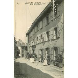 38 ALLEVARD. Hôtel du Commerce animation