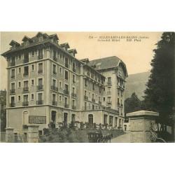 38 ALLEVARD. Carosse du Splendid Hôtel 1915