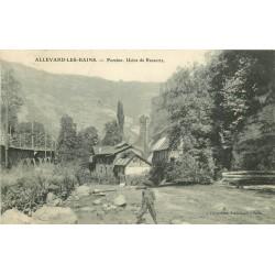 38 ALLEVARD. Pomine Usine de Ressorts 1908
