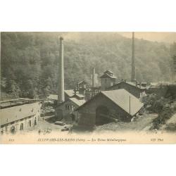 38 ALLEVARD. Les Usines Métallurgiques 1909