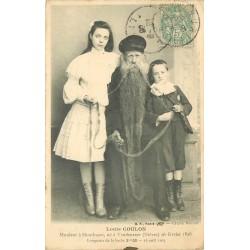 03 MONTLUCON. Louis Coulon Mouleur avec sa barbe de 3.30m 1908