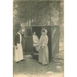 40 DAX. Transport des Malades en Tramway Etablissement Thermal Baignots 1906
