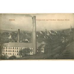 68 ALTKIRCH. Totalansicht und Fabriken Gilardoni frères 1910