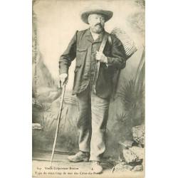 22 SAINT-MEEN. Vieux Colporteur Breton 1906