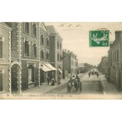 80 CAYEUX. Hôtel Parisien avenue de la Gare 1912