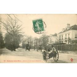 94 FONTENAY-SOUS-BOIS. Avenue de la Dame-Blanche avec charrette à bras