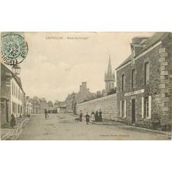 """22 LANVOLLON. Route de Paimpol 1908 """" Aux Braves marins chez Fromal """""""
