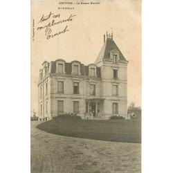 02 COEUVRES. La Maison Blanche 1904 avec Jardiniers sur la droite
