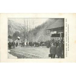 38 CHARTREUSE. Expulsion des Chartreux 1903. Arrivée des manifestants et protestataires