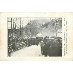 38 Expulsion des Chartreux 1903 Départ des Gendarmes et de la Troupe