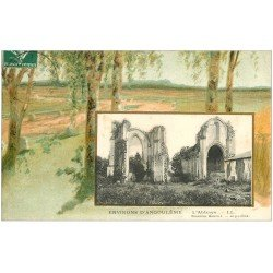carte postale ancienne 16 L'ABBAYE 1909 environs d'Angoulême