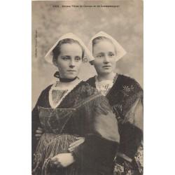 56 CARNAC & LOCMARIAQUER. Jeunes Filles en costumes et coiffes traditionnels