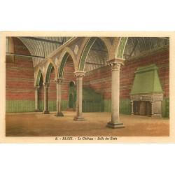 6 x Cpa 41 BLOIS. Salle Etats, Chambre Catherine Médicis, Portail et Château