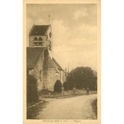 95 NOISY-SUR-OISE. Cantonniers devant l'Eglise