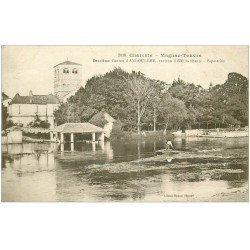 carte postale ancienne 16 MAGNAC-TOUVRE. Papeteries