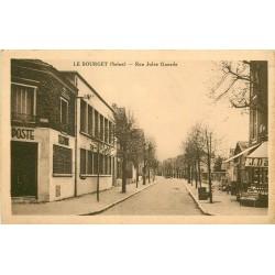 93 LE BOURGET. La Poste rue Jules Guesde