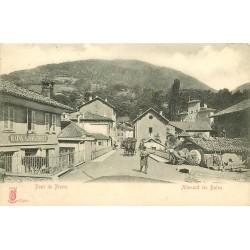38 ALLEVARD LES BAINS. Pont de Pierre et Bains automatiques vers 1900