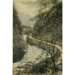 38 ALLEVARD. Les Gorges de Détrier 1911