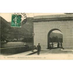 38 GRENOBLE. Porte Ile Verte et Saint-Eynard 1914