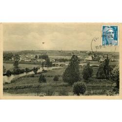 70 FAVERNEY. Vue sur la Ville 1948