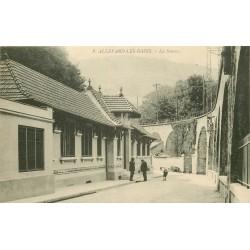 38 ALLEVARD-LES-BAINS. Etablissement Thermal la Source 1917