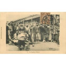 "CHINE. Les Supplices Chinois vers 1912 "" Le décapitation """