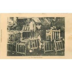 """CHINE. Les Supplices Chinois vers 1912 """" Les têtes des décapités """""""