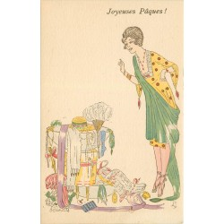 Illustrateur René Gilles JOYEUSES PAQUES mignardises