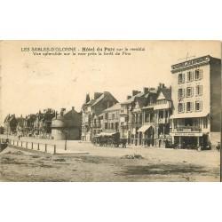 85 LES SABLES D'OLONNE. Hôtel du Parc sur le Remblai 1930 timbre taxe