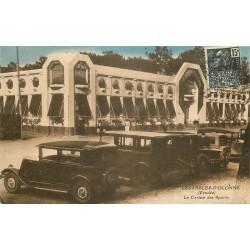 85 LES SABLES D'OLONNE. Voitures anciennes devant le Casino des Sports 1931