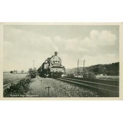 Photo Cpsm LOCOMOTIVE Train Anfahrt Hbg-Neugraben
