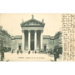 PARIS 09 Eglise Notre-Dame de Lorette 1903