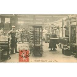 92 SURESNES. Sortie des Fours Usine 1912 Edition Spéciale des Biscuits Olibet