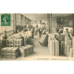 92 SURESNES. Emballage du Service de Paris Usine 1912 Edition Spéciale des Biscuits Olibet