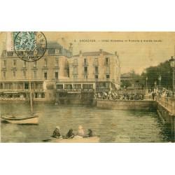 33 ARCACHON. Hôtel Richelieu et Victoria 1907
