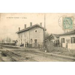 33 LA SOUYS FLOIRAC. La Gare 1906