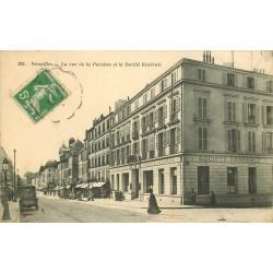 78 VERSAILLES. Banque Société Générale rue de la Paroisse 1913