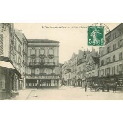 94 FONTENAY-SOUS-BOIS. Grand Café et Boulangerie Place d'Armes 1910