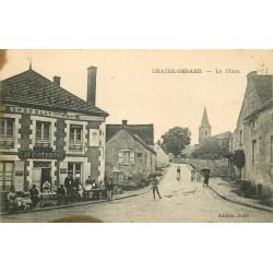 89 CHATEL-GERARD. Café du Centre sur la Place 1930