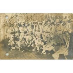 Entrée dans Luxembourg du 109° Régiment militaires 1918