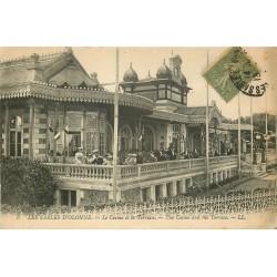 85 LES SABLES D'OLONNE. Terrasse du Casino 1919